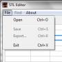 Скачать Geobot's STL editor