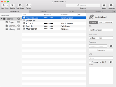 KeePass for OS X 2.23