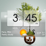Скачать 3D Flip Clock Theme Pack 02