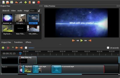 OpenShot Video Editor 2.4.3