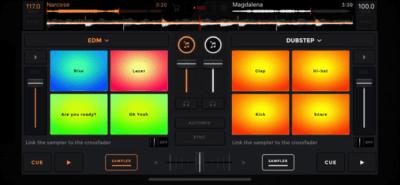 edjing - DJ mixer console studio 6.06.18