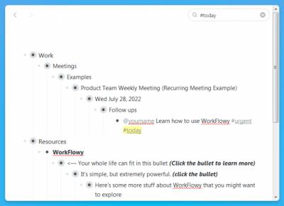 WorkFlowy 1.2.4