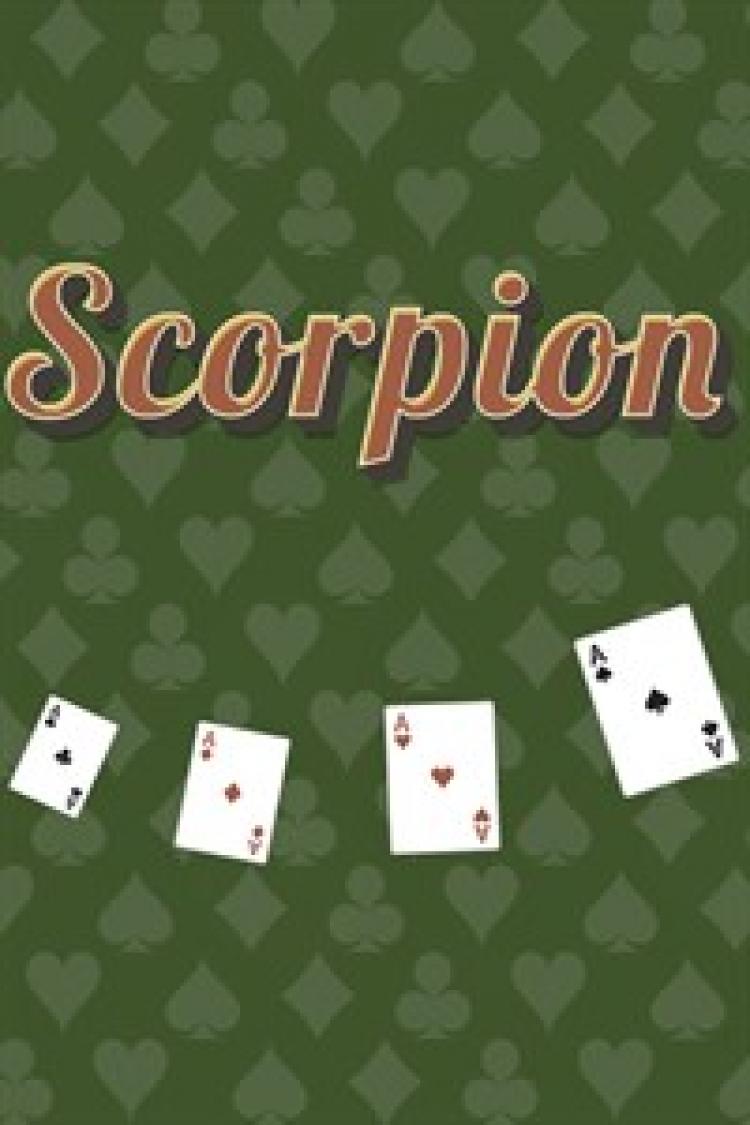 карточные игры пасьянс скорпион