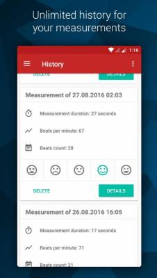 Pulse - измерь свой пульс 3.1