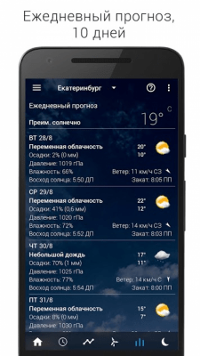 Transparent clock & weather 2.10.02