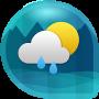 Скачать Weather & Clock Widget Android