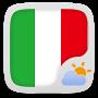 Скачать Italy Language GOWeatherEX