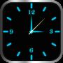 Download Glowing Clock Locker - Blue