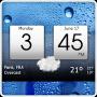 Скачать Digital clock & world weather