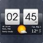 Скачать Sense Flip Clock & Weather