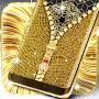 Download Gold lock screen