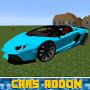 Скачать Cars Addon for MCPE Mod