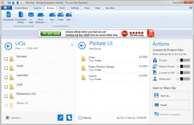 WinZIP 22.5 Build 13114