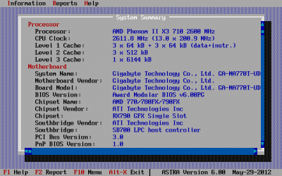 ASTRA - Advanced Sysinfo Tool v5.11