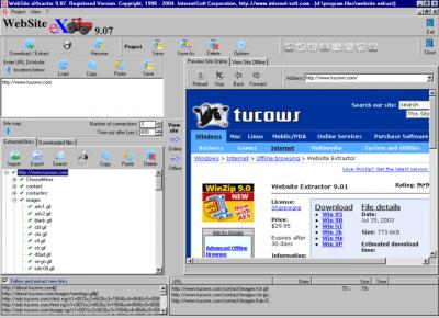 Website Extractor v9.20