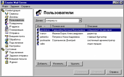 Courier Mail Server 3.08