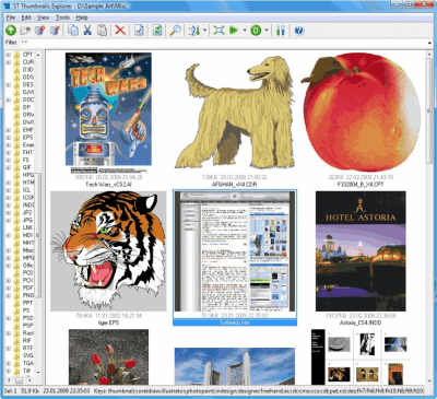 ST Thumbnails Explorer v1.2 build 2145