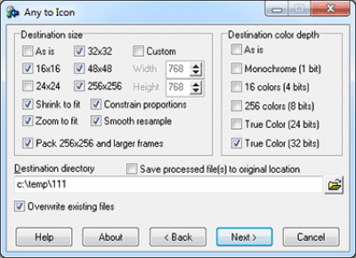 Any to Icon 3.33