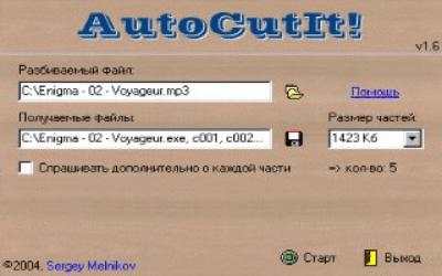 AutoCutIt! v1.6