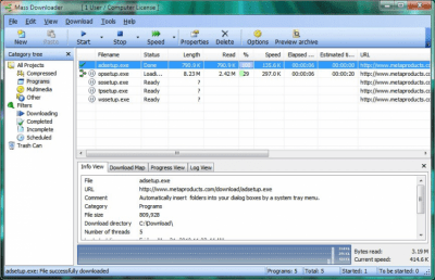 Mass Downloader 3.8 SR1