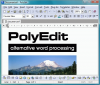 Скачать PolyEdit 5.0 Preview Release