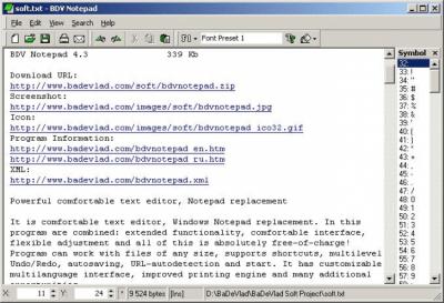 BDV Notepad 5.0