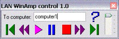 LAN Winamp control 1.0