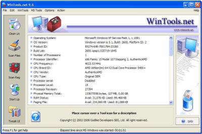 WinTools.net Classic v5.3