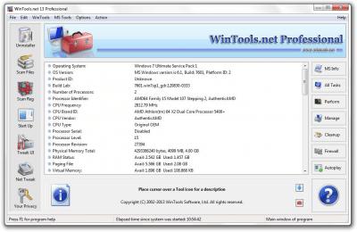 WinTools.net Professional v5.6.1