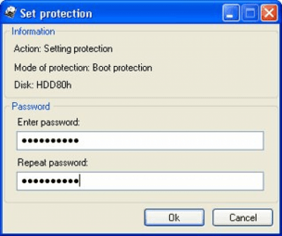 HDD Password Protection 3.0