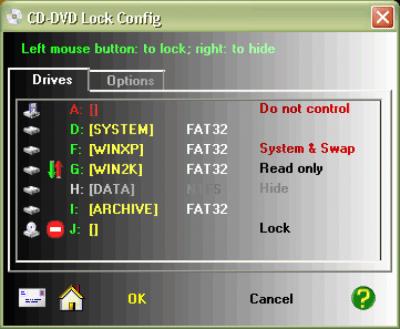 CDDVD Lock