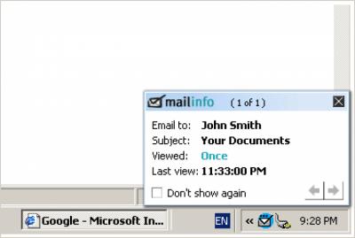 Mailinfo v2.4