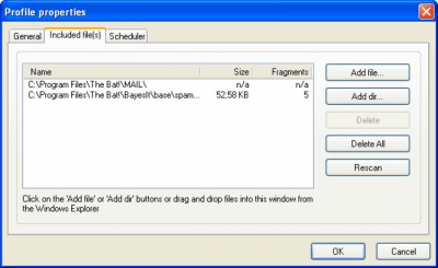 Rapid File Defragmentor v1.4 build 517
