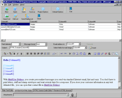 Mailing List Express v5.50