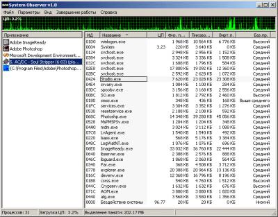 System Observer v1.0