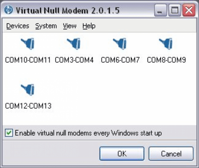 Virtual Null Modem v2.0.1