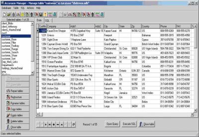 Accuracer Database System v4.03