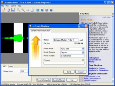 Create Ringtone 4.96