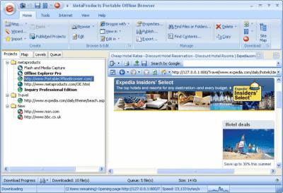 Portable Offline Browser 5.9 SR3