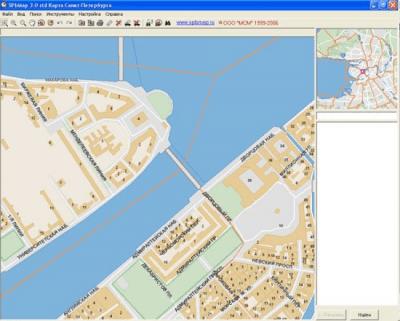 Карта Санкт-Петербурга SPbMap 3.0