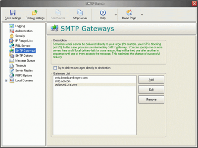 Personal Mail Server Pro 2.12