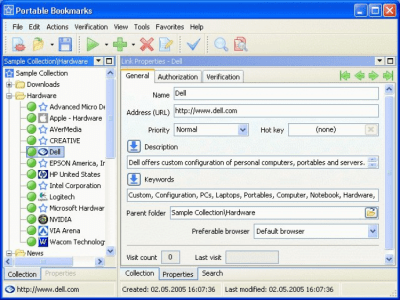 Portable Bookmarks 1.0.0.196