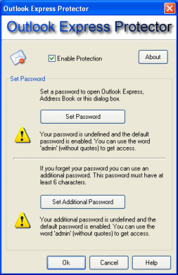 Outlook Express Protector 1.9