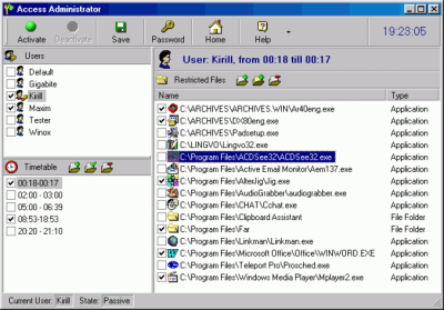 Access Administrator 4.4