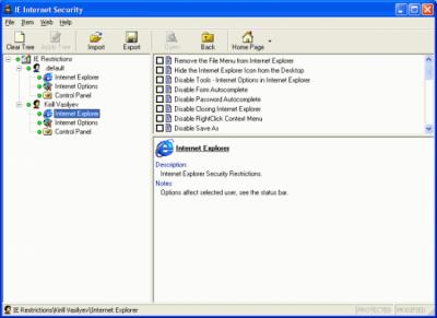 IE Internet Security 7.1