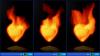 Скачать Fire Heart Desktop Gadget