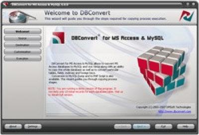 DBConvert for Access & MySQL 6.0.0