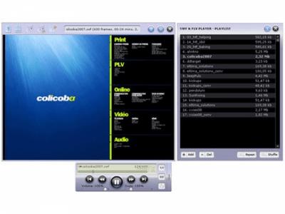 SWF & FLV Player 3.0