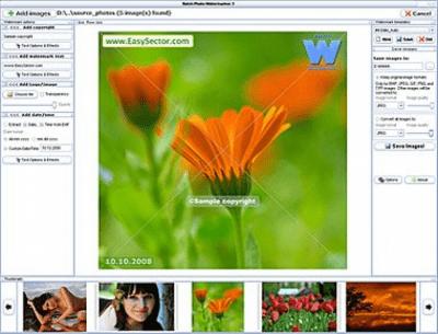 Batch Photo Watermarker 3.1