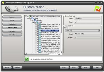 DBConvert for SQLite and MSSQL 1.0.0